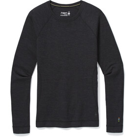 Smartwool Merino 250 Maglietta Girocollo Baselayer Donna, charcoal heather